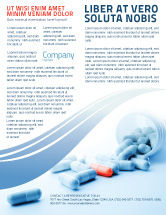 Medical: Drug Therapy Flyer Template #05497