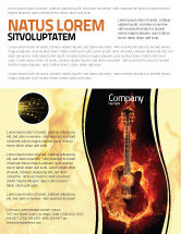 Art & Entertainment: Jazz Guitar Flyer Template #05536