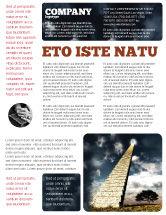 Business Concepts: Modelo de Folheto - escada para o céu #05581
