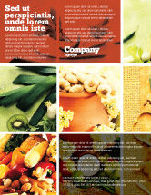 Food & Beverage: Gifts of Nature Flyer Template #05587
