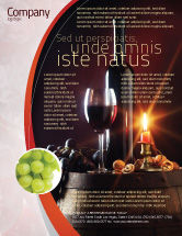 Food & Beverage: Wine Bottle Flyer Template #05719