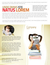 Education & Training: School Math Flyer Template #05855