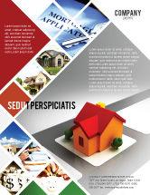 Construction: Modelo de Folheto - planejamento para a construção de subúrbios #05866
