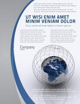 Global: World Outlook Flyer Template #06277