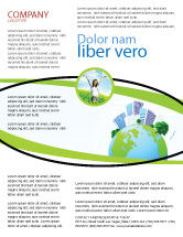 Nature & Environment: Green City Flyer Template #06283