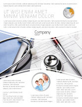 Medical: Medical Record For Analysis Flyer Template #06369