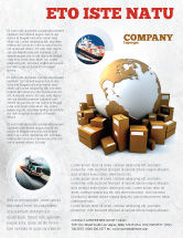 Careers/Industry: Packages Flyer Template #06394