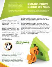 Financial/Accounting: Modelo de Folheto - dinheiro da hipoteca #06459