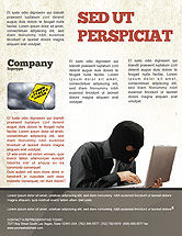 Legal: Hacking Flyer Template #06485