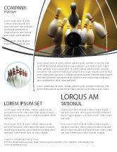 Business Concepts: Fallen Skittles Flyer Template #06514