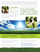 Nature & Environment: Bright Day Flyer Template #06630