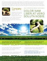 Nature & Environment: Modelo de Folheto - dia iluminado #06630