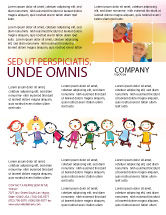 Education & Training: Funny Kids Flyer Template #07045