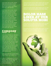 Careers/Industry: Olive Lamp Flyer Template #07113