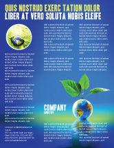 Global: Vruchtbare Aarde Flyer Template #07199