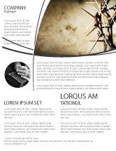 Religious/Spiritual: Modelo de Folheto - espinhos #07326