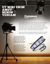 Careers/Industry: Photo Studio Flyer Template #07606