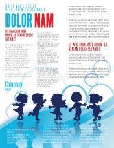 Education & Training: Little Children Flyer Template #07607