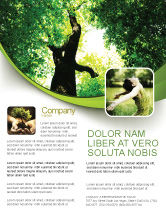 Nature & Environment: High Tree Flyer Template #07704