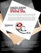 Business: Modelo de Folheto - cuidados médicos do mundo #07711