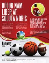 Sports: Sport Balls Flyer Template #08071