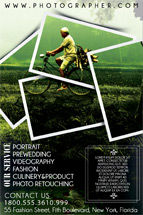 Careers/Industry: Templat Flyer Fotografi #08431