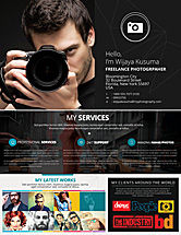 Careers/Industry: Templat Flyer Fotografer Lepas #08439