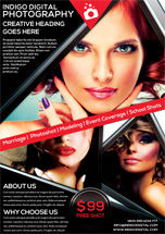 Careers/Industry: Photography Studio Flyer Template #08440