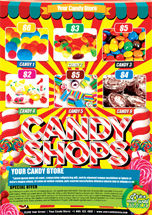 Food & Beverage: Candylicious Candy Shop Flyer Template #08443