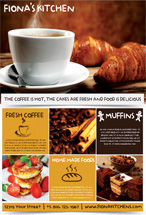 Food & Beverage: Modèle de Flyer de café #08446