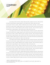 Food & Beverage: Maize Letterhead Template #00973