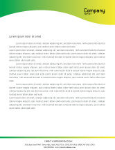 Technology, Science & Computers: Lab Testing Letterhead Template #01255