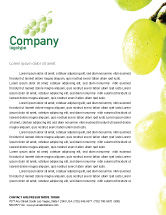 Food & Beverage: White Grape Letterhead Template #01281
