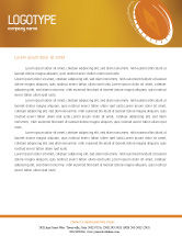 Business Concepts: Compass Letterhead Template #01284