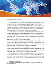 Global: Global Technologies Letterhead Template #01456