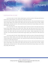 Global: Blue Earth Abstract Letterhead Template #01511