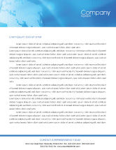 Global: Businessman Letterhead Template #01534