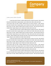 Global: Globe On The Pastel Background Letterhead Template #01561