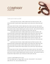 Legal: Breach of the Law Letterhead Template #01605