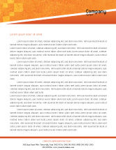Business Concepts: Office Race Letterhead Template #01651