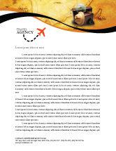 Scientific letterhead templates in microsoft word adobe illustrator careersindustry travel letterhead template 01669 spiritdancerdesigns Gallery