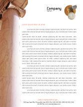 Construction: Ancient Greece Letterhead Template #01670