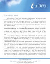 Religious/Spiritual: Belfry Letterhead Template #01739