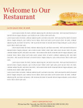 Food & Beverage: Fast Food Letterhead Template #01741