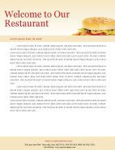Food & Beverage: Fast Food Letterhead Template #01741