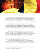 Flags/International: Belgian Flag Letterhead Template #01751