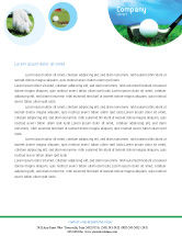 Sports: Golf Letterhead Template #01768