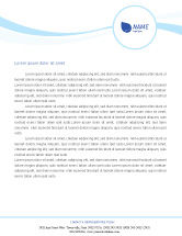 Technology, Science & Computers: Wind Energy Letterhead Template #01801