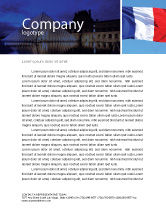 Flags/International: French Flag Letterhead Template #01805