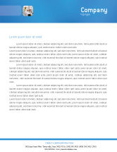 Technology, Science & Computers: Laboratory Research Letterhead Template #01819